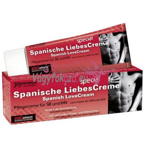 DIE SPANISCHE LIEBESCREME SPEZIAL - The Spanish LoveCream - 40 ml, uniszex - Eropharm